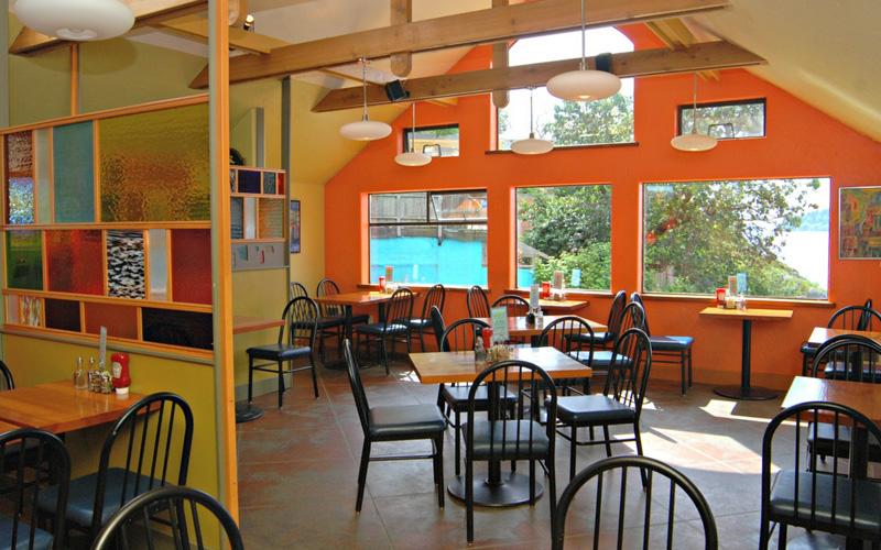 ganges salt spring island restaurants images