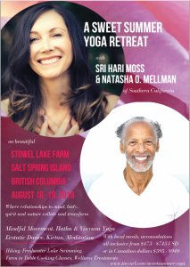A Sweet Summer Yoga Retreat @ Stowel Lake Farm | | |