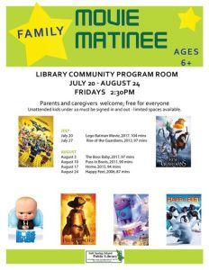 Summer Movie Matinee: Home @ Salt Spring Library      