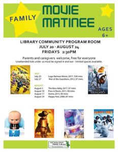 Summer Movie Matinee: Happy Feet @ Salt Spring Library | | |