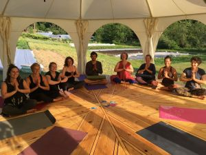 Farm Yoga @ Duck Creek Farm | British Columbia | Canada