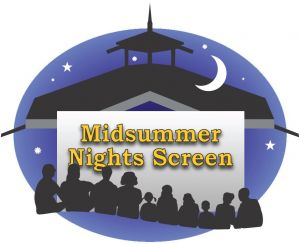 Midsummer Night Screen @ Centennial Park in Ganges Village