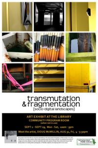 September Art Exhibit in the Library @ Salt Spring Island Public Library | | |