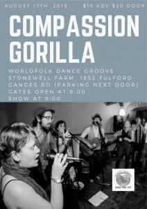 Compassion Gorilla at Stonewell Farm @ Stonewell Farm      