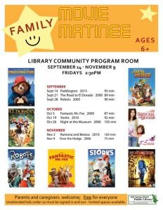 Family Movie Matinee: Night at the Museum @ Salt Spring Island Public Library | | |