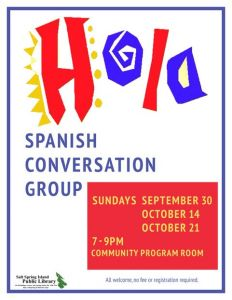 Spanish Conversation Group @ Salt Spring Island Public Library | | |
