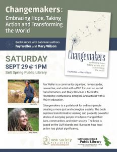Fay Well and Mary Wilsons Book Launch @ Salt Spring Island Public Library | | |