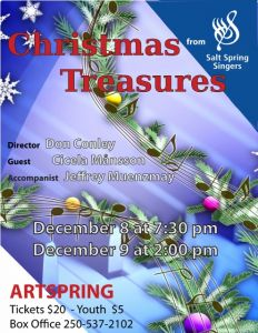 Christmas Treasures - The Salt Spring Singers Christmas Concert @ ArtSpring Theatre |  |  |