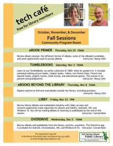 Tech Café - EBOOK PRIMER @ Salt Spring Island Public Library | | |