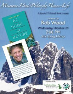 Book Launch - Rob Wood @ Salt Spring Island Public Library | | |