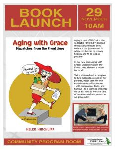 Aging with Grace | Book Launch with Helen Hinchliff @ Salt Spring Island Public Library | | |