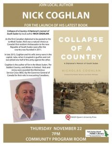Collapse of a Country Book Launch @ Salt Spring Island Public Library | | |