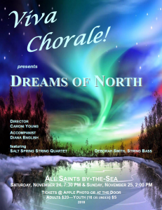 Viva Chorale! sings Dreams of North @ All Saints by-the-Sea | | |